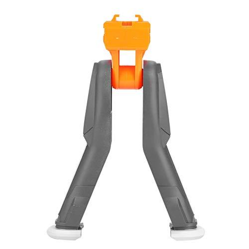 DAUERHAFT Bípode de Rifle Plegable Plegable de Pistola de Bala Suave, fácil de Instalar, bípode de Pistola de Bala Suave, Accesorio táctico de Soporte para Pistola de Juguete