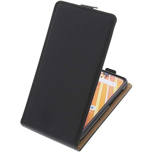 foto-kontor Tasche für Archos 57 Oxygen Smartphone Flipstyle Schutz Hülle schwarz