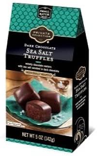 Private Selection Dark Chocolate Sea Salt Truffle 5 oz, pack of 1