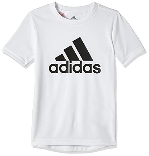 adidas GN3994 B BL T T-Shirt Bambino White/Black 1112