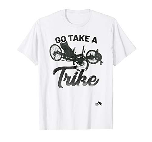 Go Take a Trike Recumbent Bicycle T-Shirt