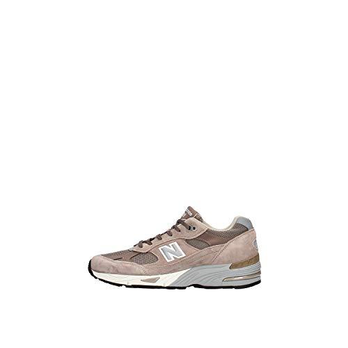 NEW BALANCE M991EFS sneaker unisex in camoscio - Tortora, EUR 44