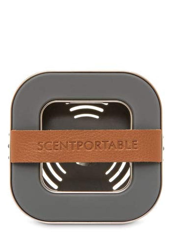 特別にエッセンス毛布【Bath&Body Works/バス&ボディワークス】 車用芳香剤 セントポータブル ホルダー (本体ケースのみ) バンドレザー Scentportable Holder Banded Leather Beveled Square Vent Clip [並行輸入品]