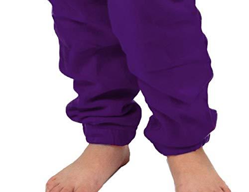Gennadi Hoppe Kinder Jumpsuit – Jungen, Mädchen, lila - 7