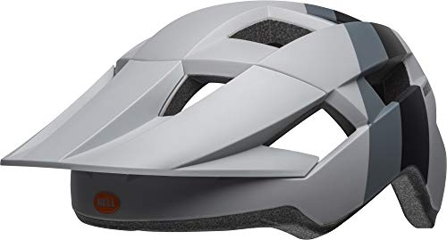 Casco BELL Spark MTB, Chispa, Unisex adulto, color Downdraft Matte Grey, tamaño 54-61 cm