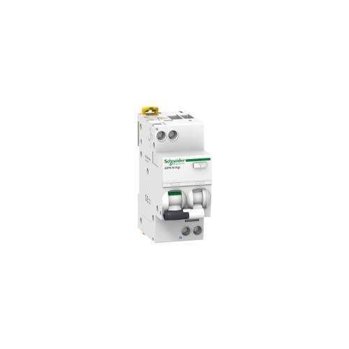 Schneider Electric A9D31610 iDPN N Vigi Interruptor Diferencial, 1P+N, 10A, 30mA, Clase AC, 85mm x 36mm x 73mm, Blanco