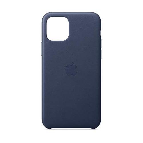 Apple Custodia in Pelle (per iPhone 11 Pro) - Blu Notte