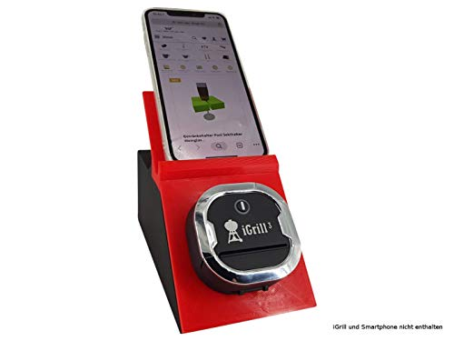 Houder voor iGrill 3 Bluetooth-thermometer met Smartphone Tablet Standaard