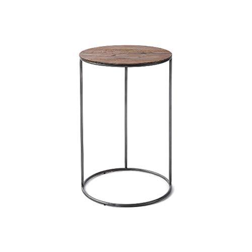 Riviera Maison - The Market Sofa Table - Beistelltisch - recyceltes Eichenholz/Eisen/recyceltes Eschenholz - H: 60cm