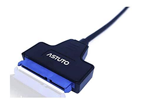 "Adaptador de USB-C a SATA III para discos duros HDD y SSD de 2,5"" | Cable convertidor USB-C para conectar discos duros externos"