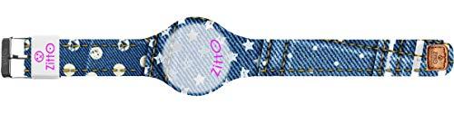 Orologio digitale unisex grande ZITTO JEANS STREET EDITION in silicone blu jeans DOTSNSTARS-MAX-KF