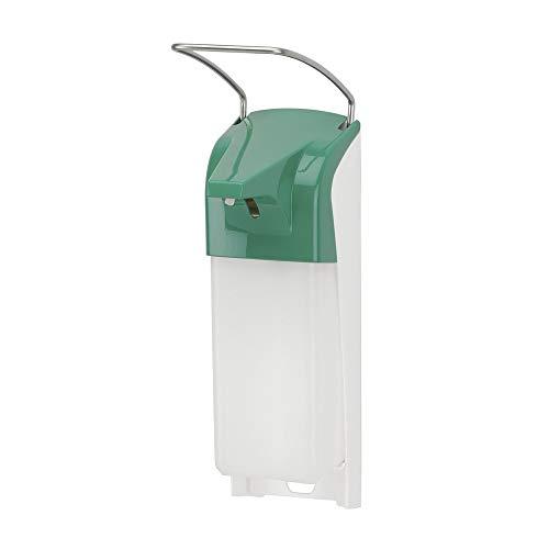 OPHARDT hygiene 4400486 ER T groene dispenser voor vloeibare zeep en desinfectiemiddelen, 1000 ml