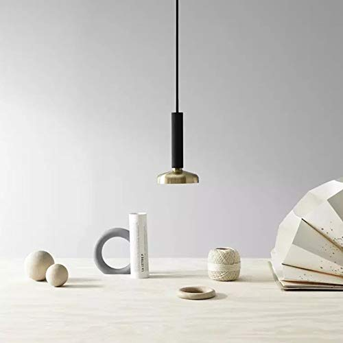 KK Gabby Nordic Araña Simple Sola Cabeza Colgando Lámpara Moderna Mesa De Noche Cafetería Escalera Porche 14 * 14 * 22.5cm