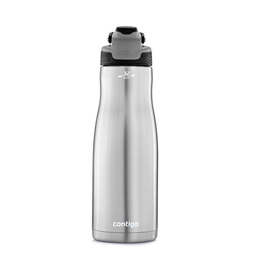 Purchase Contigo 2079446 AUTOSEAL Chill Water Bottle, 32 oz, Licorice Lid