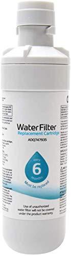 LT1000P Fridge Filtro De Agua Reemplazo Compatible con LT1000P / PC/PCS, LT1000PC, LT-1000PC, MDJ64844601, ADQ747935 ADQ74793504, Kenmore9980 Filtro De Agua,2pcs