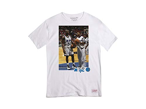 Mitchell & Ness Orlando Magic Photo Real NBA Camiseta Blanca M