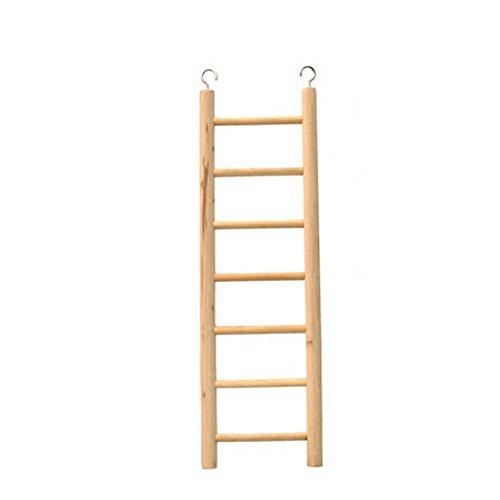 Bird Toy Wooden Ladder 7 Step