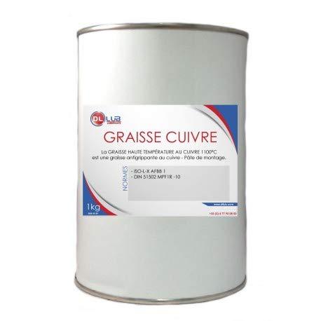 DLLUB Graisse Haute TEMPÉRATURE AU CUIVRE 1100°C
