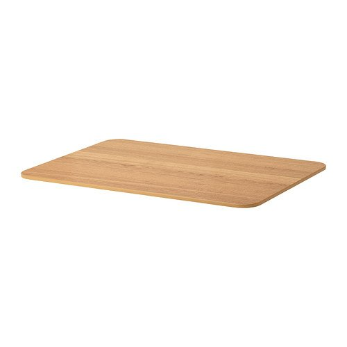 Ikea BEKANT – Tablero, Chapa de Roble – 120 x 80 cm: Amazon.es: Hogar