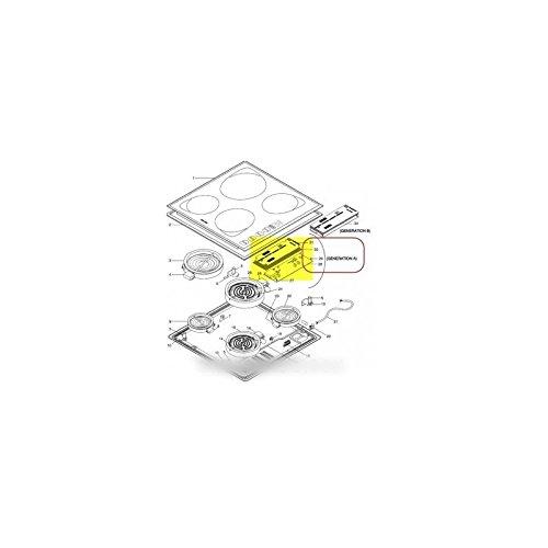 SCHOLTES - carte logique (generation a) pour table de cuisson SCHOLTES