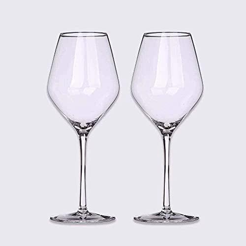 Kristal Rode Witte Wijnglazen Cocktailglas Wijnbekers Helder Kristal Glaswerk Sap Wijn Drinkglazen Bekers Thuis Bruiloft 500 ml (Set van 8)