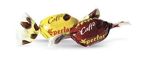Sperlari - Caramelline Al Caffè Incartate Singolarmente, Sacchetto Di 1 Kg