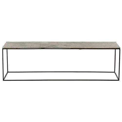 Athezza Table Basse métal Ibiza 140x41x40 cm