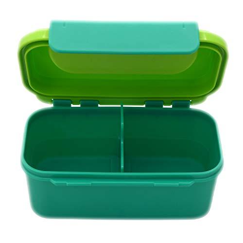 Tupperware Caja con cierre y dos compartimentos de 500 ml.