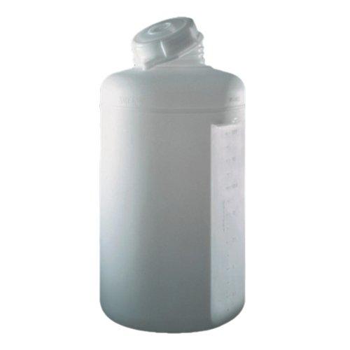 Nalgene 2650-0020 - Tanque de polipropileno con cúpula cerrada (redondo, 75 L, diámetro exterior de 40 cm x 81 cm)
