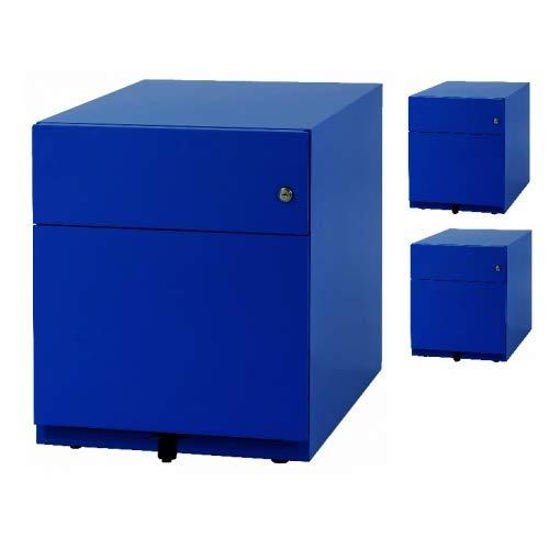 3x Note™ Rollcontainer • Schreibtisch- Metallcontainer • Bisley