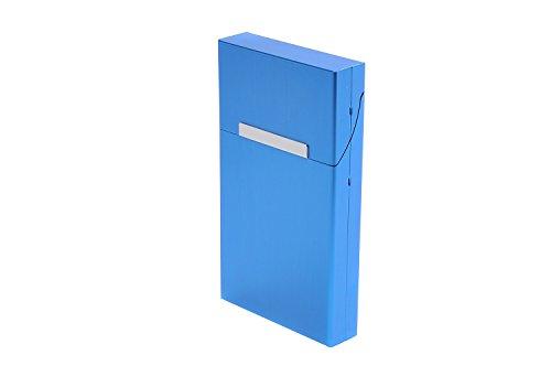 Quantum Abacus Étui pour Paquets de Cigarettes en Aluminium, pour Un Paquet de Cigarettes Slim ou Super Slim (100mm), ou 7-9 Cigarettes Normales/King Size Mod. 533-04 (DE)
