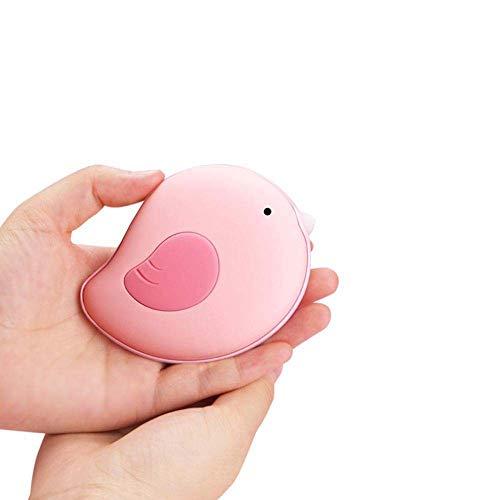QJXSAN Réchauffeur de Main portatif chargeant Un trésor Chaud Anti-brûlure USB alimentant Un trésor de Charge Mobile