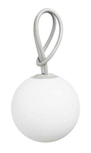 Fatboy Bolleke Grigio | Lampada a Sospensione LED per interni ed esterni | Senza Fili | Ricaricabile con USB