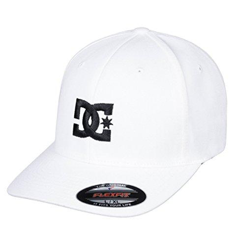 DC Shoes Herren Kappe Cap Star 2 - Mütze für Männer, White/Black, L/XL, 55300096