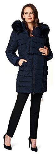Noppies Damen Jacke Jacket Anna, Blau (Dark Blue C165) - 3