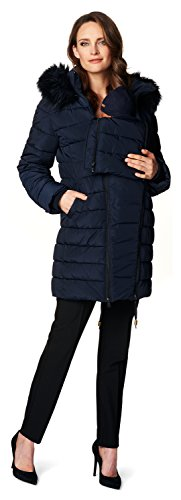 Noppies Damen Jacke Jacket Anna, Blau (Dark Blue C165) - 3