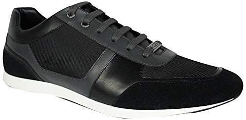 BOSS Hugo Fulltime 50374168 - Sneaker da uomo, Nero (Nero ), 43 EU