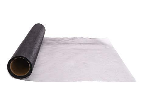 Toyland® 9M x 40cm Rollo de Organza Pura - Decoraciones Navideñas/Accesorios de Boda (Negro)