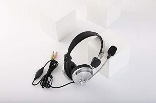 Mazu Homee PS4 juego de auriculares, puede telescópico con la máquina del micrófono, conector de 3.5mm, adecuado para PC portátil Tablet Mac Smartphone