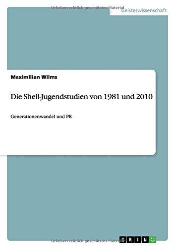 Die Shell-Jugendstudien von 1981 und 2010: Generationenwandel und PR