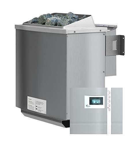Unbekannt Karibu 4,5 kW Bio-Kombiofen Saunaofen inkl. Steuergerät Premium - Sparset