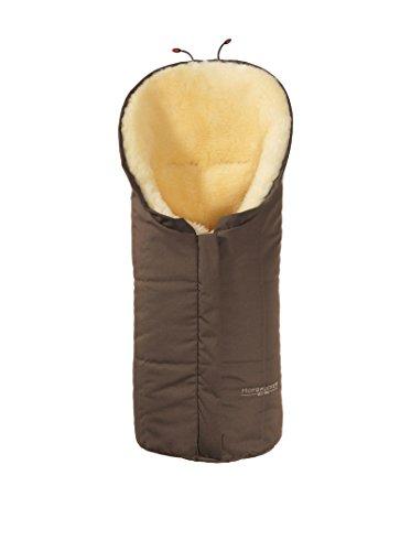Hofbrucker seit 1948 Wagensack aus Lammfell Eskimo braun one size