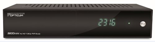 Opticum HD 9600 mini HDTV-Satelliten-Receiver (2.0 USB Schnittstelle, CI-Slot) schwarz