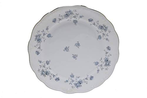 Johann Haviland Blue Garland Germany 7.75' Salad Plate