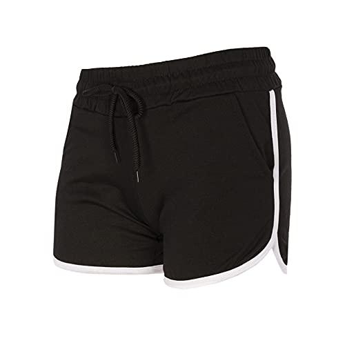 Trendcool Pantalones Cortos Mujer. Pantalones Chandal Mujer. Mallas Cortas Mujer. Short Deportivo Mujer. Shorts Elasticos Fitness. (M9, M)