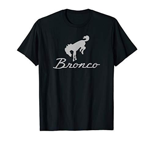 Ford Bronco Gray Logo T-Shirt