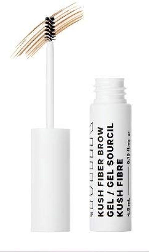 光沢のある光の影Milk Makeup Kush Fiber Brow Gel 0.15 FL OZ (Haze - Blonde to Brown hair colors) [並行輸入品]