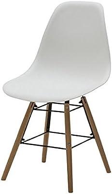 KunstDesign Set de 6 Sillas de Comedor, Diseño Ergonómico ...