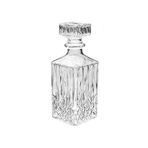 tyui Decantador, Vidrio de Diamante Vino Vino Vino Vino Whisky Cristal Botella Bebida decantador Vidrio Botella Barra dispensador Vino Conjunto de vinos
