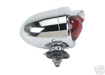 Lowrider Red Bullet Bike Bicycle Tail Light